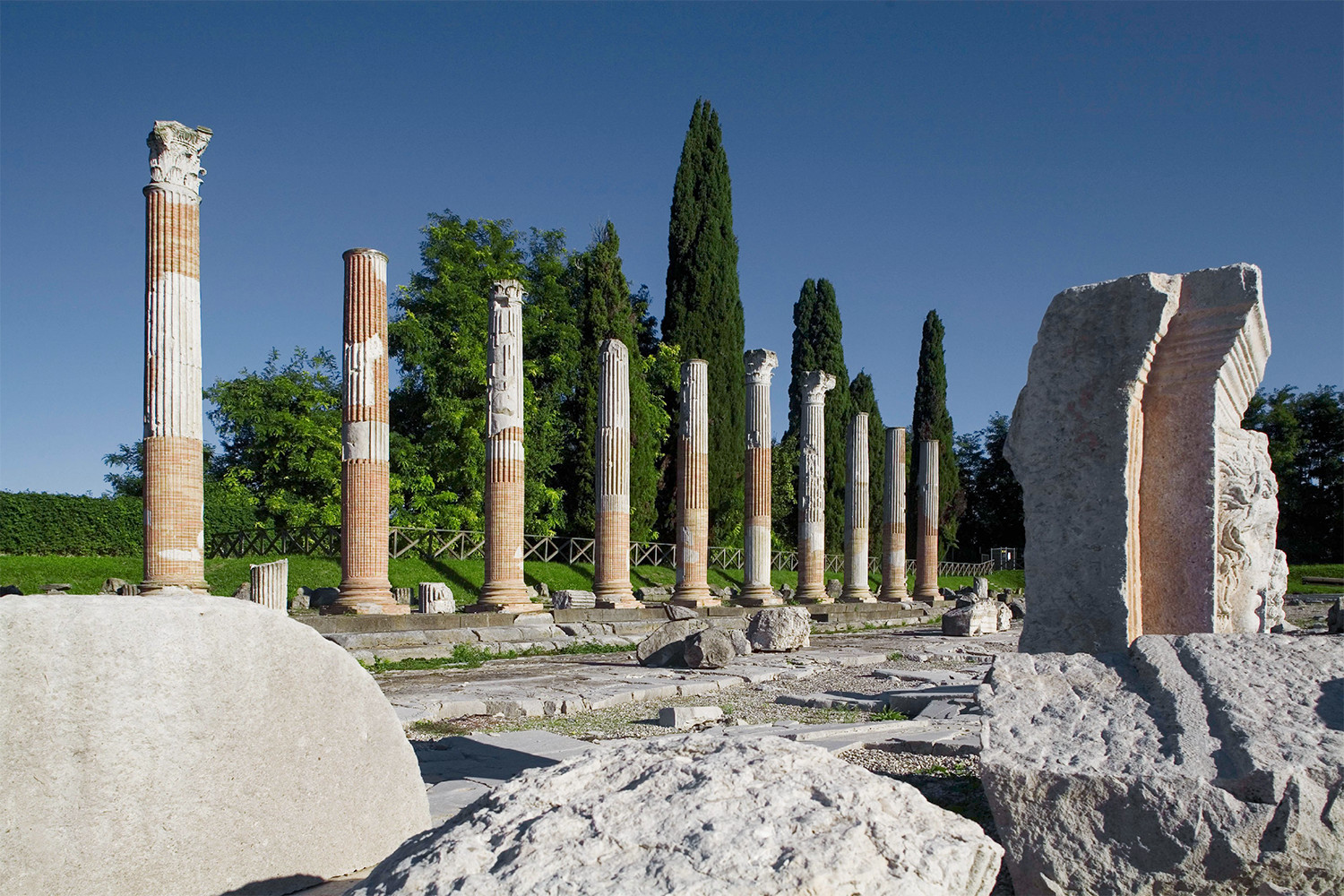 Foro romano di Aquileia,<br>photo by Matteo Lavazza Seranto