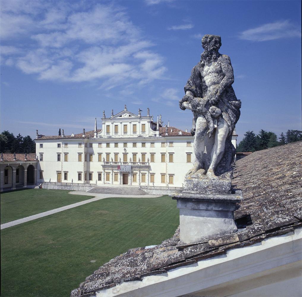 Udine, Centro regionale catalogazione e restauro villa manin veduta