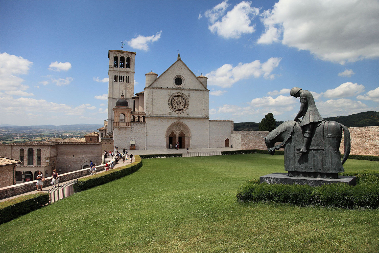 Basilica superiore di San Francesco,<br>photo by Michele Tortoioli
