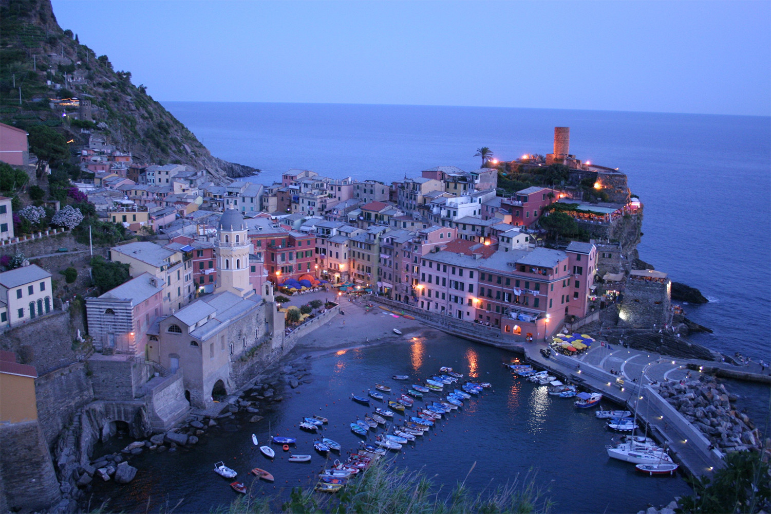 Vernazza,<br>photo by Michael Pasini, Parco Nazionale