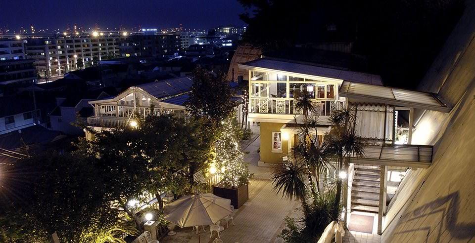 外観写真2:横浜・山手の丘の上に広がる空間にイタリアンのほかフレンチのレストランも併設