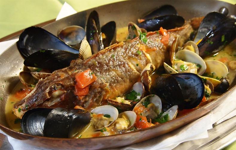 料理4:アクアパッツァのあとは… スープを使って パスタ or リゾット を